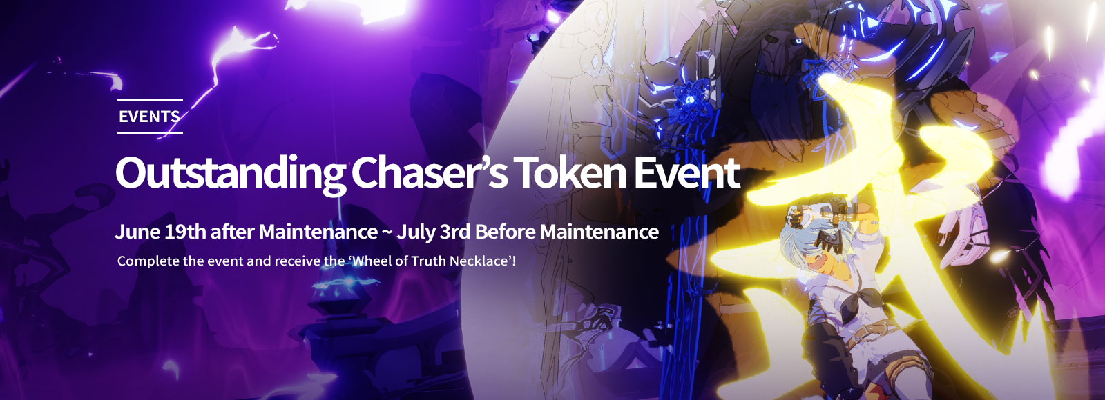 Outstanding Chaser's Token Event <br> (UTC+0 June 19th ~ July 2nd)