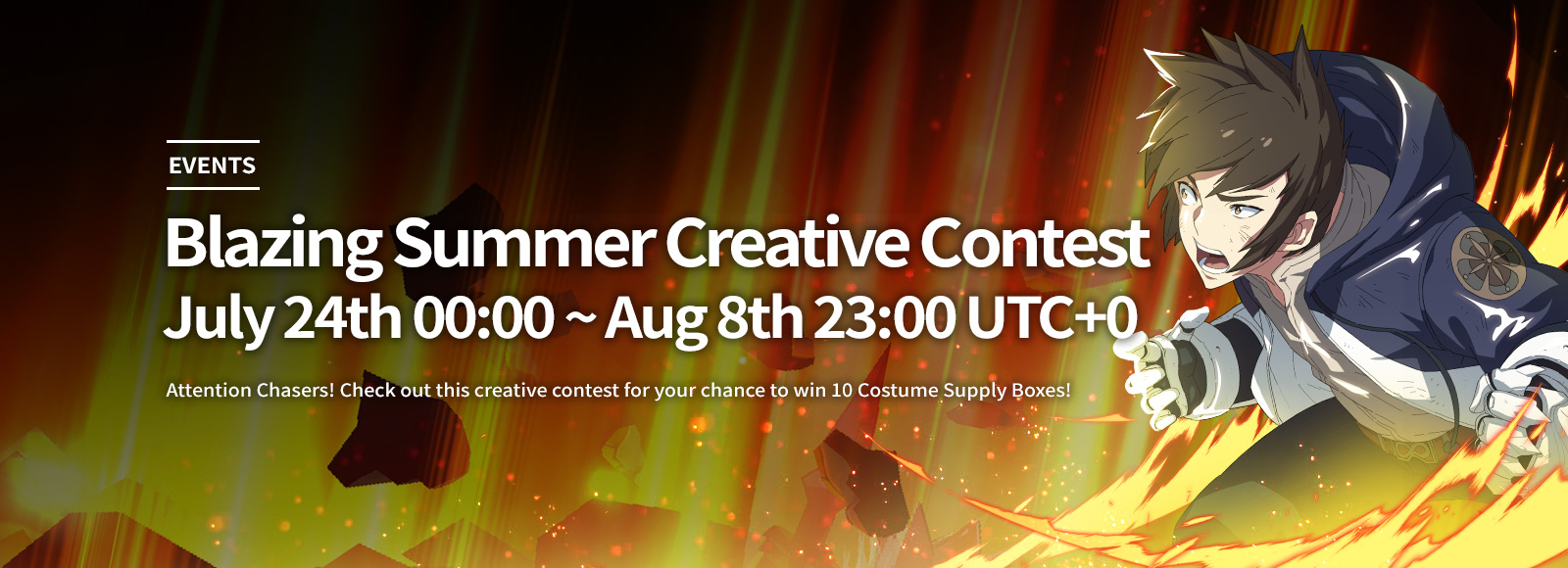 Blazing Summer Creative Contest