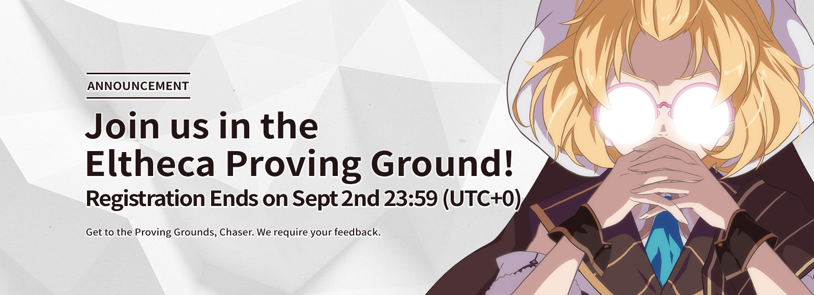 Join us in the Eltheca Proving Ground!